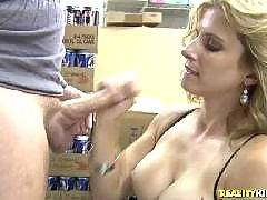 Busty mom Corey Everson fucks a cock still wearing her lingerie