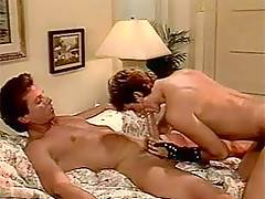 Interracial cock-suckers in a 3some with a horny black dude